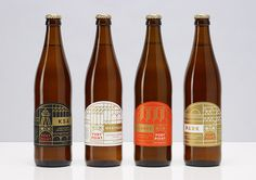 Fort Point Beer Company Branding by Manual #packaging #beer #design #branding