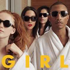 G I R L #album #i #g #girl #williams #l #pharrell #cover #r #music