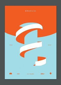Rob Ricketts — Graphic Design & Typography #brasilia #poster