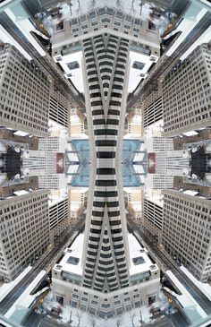 Kaleidoscopic View Of Chicago on Behance