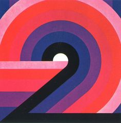 """Typeverything.com """"2"""" by Otto Rieger, 1978. (via... - Typeverything #type #numbers"""
