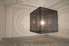 Intersections by Anila Quayyum Agha - www.homeworlddesign.com (2) #ideas #design #inspiration #art