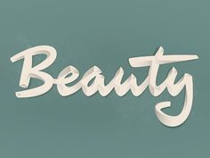 Beauty by Laura Meseguer #script