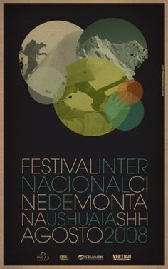 Shh... Festival 2008 on the Behance Network #black #circles #poster