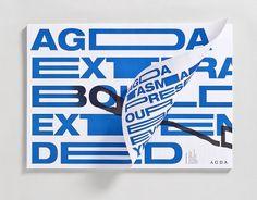 Toutes les tailles | AGDA tasmania poster by Toko | Flickr: partage de photos! #print #typography