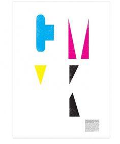 CMYK Poster - Aufiero #information #print #design #info #poster #cmyk