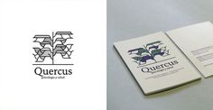 Quercus #modular #business #center #card #simple #identity #logo #layout #align