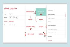 BHF Calories calculator - gra monteleone — Portfolio #calories #bhf #website #illustration #calculator