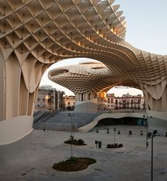 Metropol Parasol // The World's Largest Wooden Structure | Yatzer™ #seville #metropol #parasol #structure #wood #architecture
