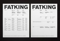 Ze Studio: Fatking   Sgustok Design
