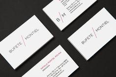 estudi oh! | Bufet Montiel #logotype #print #identity #lawyer