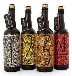 Luminary Quarter Beer #beer #packaging #illustration