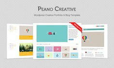 Peano creative ? free homepage psd Free Psd. See more inspiration related to Template, Creative, Portfolio, Psd, Templates, Blog, Wordpress, Portfolio template, Homepage and Horizontal on Freepik.
