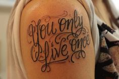 20 Awesome Tattoo Lettering Design Style #Tatto #lettering #tattooDesign