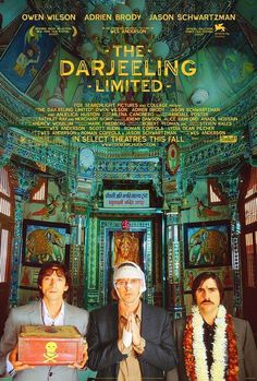 The Darjeeling Limited #limited #communications #movie #darjeeling #wes #anderson #the #poster #blt