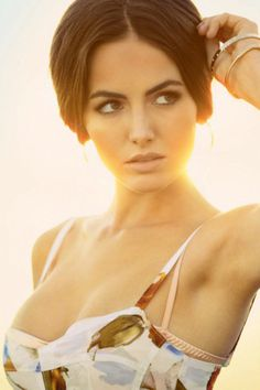 Camilla Belle onWoman's Guilt #sun #woman #back #photography #light #beauty