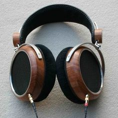 [AudioObsession] - HiFiMAN HE-5 one of the two current production... #wood #headphones