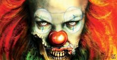Stephen King's Characters Become Alive in Digital Art #stan #pennywise #digital #peter #art #poster #stephen #character #king