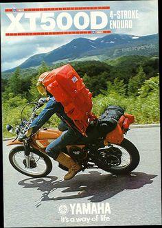 Yamaha XT500D #moto