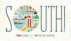 south #city #illustration #brazil