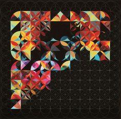 FFFFOUND!   Andy Gilmore's musical geometries #gilmores #andy #musical #geometries