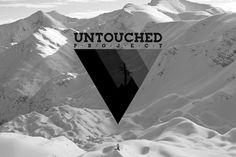 Untouched project logo #logo #identity #blackandwhite