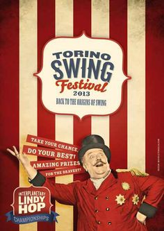 #poster #vintage #retro #lindyhop #swing #micheletenaglia