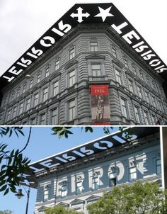 typography-architecture-house-of-terror.jpg (JPEG Image, 468 × 600 pixels) #design #environmental #architecture #type #typography