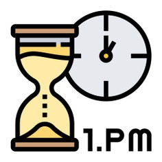 See more icon inspiration related to watch, wait, punctual, hourglass, punctuality, time and date, Tools and utensils, tool, time, clock and square on Flaticon.