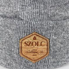 SZOLC Beanie #beanie #lifestyle #cork #cozy #retro #logo #szolc