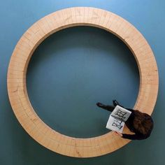 OZON International's Photos - Wall Photos #circle #geometry #bench