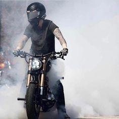 Bobber Chopper Harley Davidson Motorcycle Lifestyle Custom Culture #RideMotorcyclesHaveFun