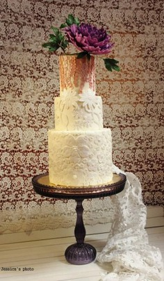 Wedding Cakes: Floral Cakes by Jessica MV - floral cakes