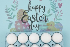 Happy easter day Free Psd. See more inspiration related to Flower, Mockup, Watercolor, Floral, Heart, Template, Leaf, Typography, Chicken, Spring, Leaves, Celebration, Happy, Font, Holiday, Mock up, Easter, Plant, Religion, Egg, Calligraphy, Lettering, Traditional, View, Up, Day, Top, Top view, Carton, Cultural, Tradition, Mock, Seasonal, Egg carton and Paschal on Freepik.