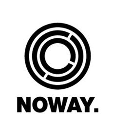 NOWAY. on the Behance Network #logo #apparel #noway
