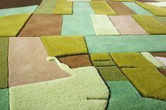 LANDCARPET on the Behance Network #land #carpet