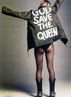 FFFFOUND! | foto_decadent: Editorial: I Did It My WayMagazine: i-DM #photography #editorial #kate moss #god #save #the #queen