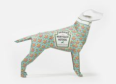 Gerald Hot Dog by Munye&Co #munyeco #pattern #hot #illustration #craft #papercraft #paper #dog