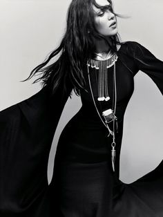 Aymeline Valade by Emma Summerton for Vogue Italia
