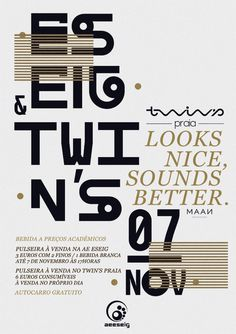 MAAN POSTER #blankhiss #looks #nice #maan #sounds #twins #better #typography