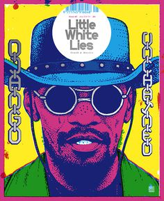 Little White Lies Magazine Cover Django Unchained