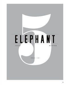 Matt Willey, For Elephant #5