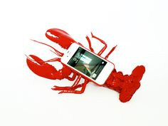 Lobster Mobile Phone Case #lobster #surrealism #telephone #v2