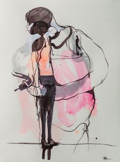 Study 6 Artist Will Barras Date 2013 Art Form Work on paper Medium acrylic on paper