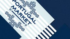 Portugal Market on Behance #pattern #market #stationary #print #portugal #cruise #brand #identity #traditional #poster #tile #porto