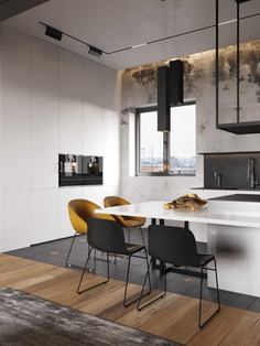 kitchen, Moscow / Cartelle Design