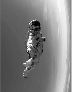 desertjedi:jedi baller #photo #space #spaceman #inspirataion #cool