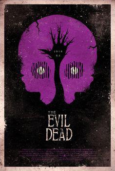 The Evil Dead Poster by ~adamrabalais on deviantART #movie #horror #poster