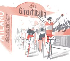 CITY CYCLING GUIDES - Europe on Behance #cycling #illustration #italia