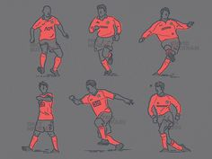 Football x Colour and Lines = Class of 92